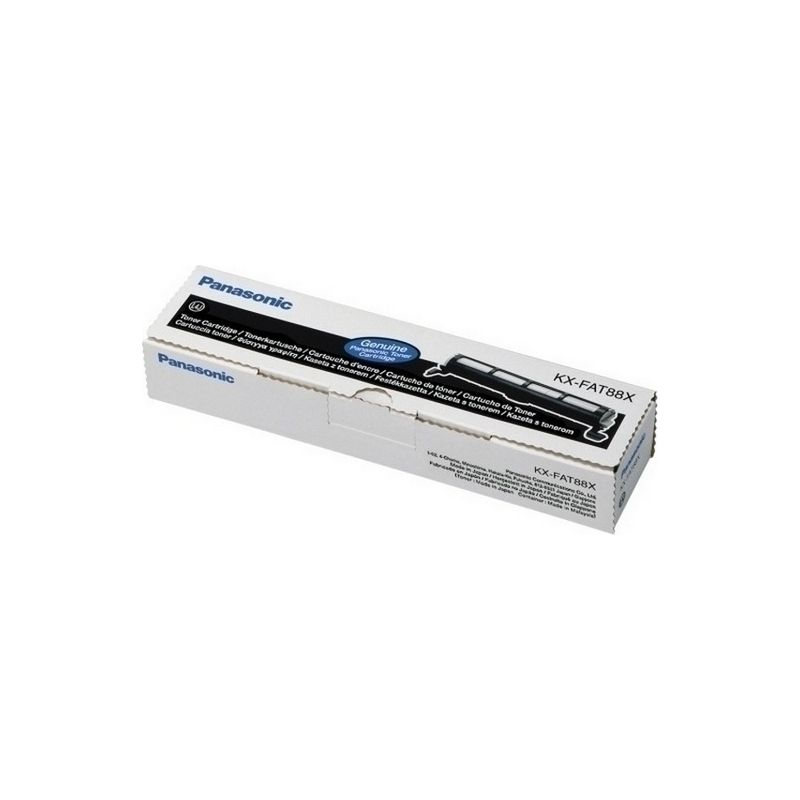 Panasonic KX-FAT88X Black  Laser Toner  KX-FAT88X