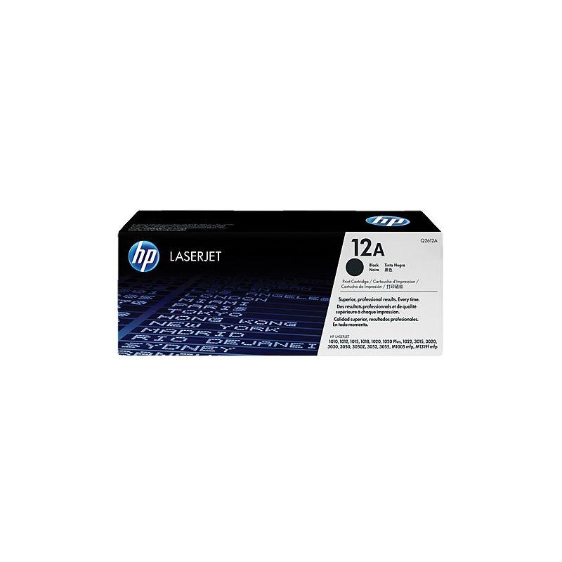 Hp Q2612A Black  Laser Toner (2000 σελίδες) 12A