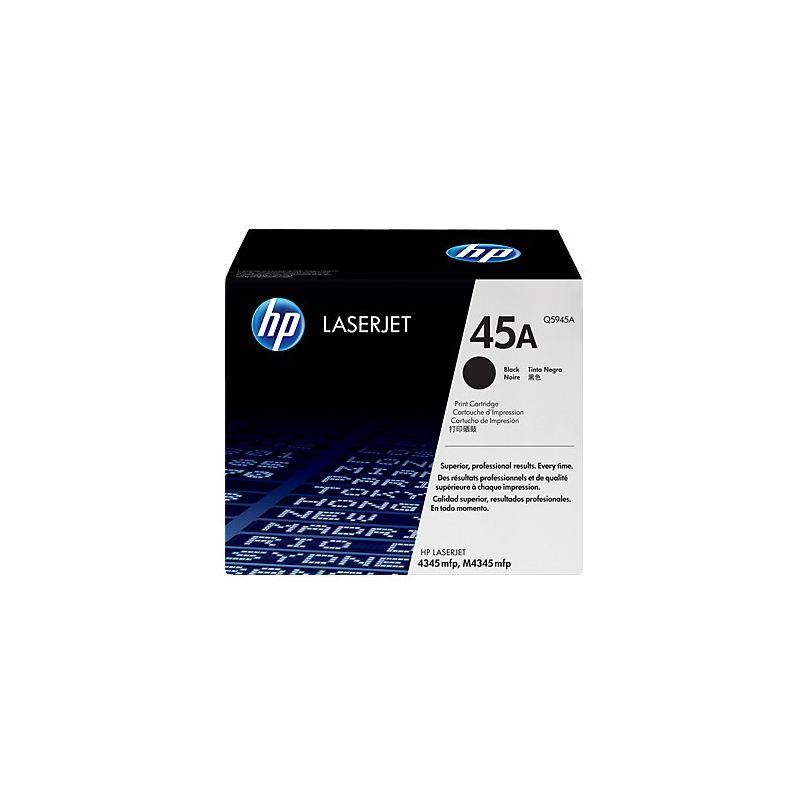 Hp Q5945A Black  Laser Toner (18000 σελίδες) 45A