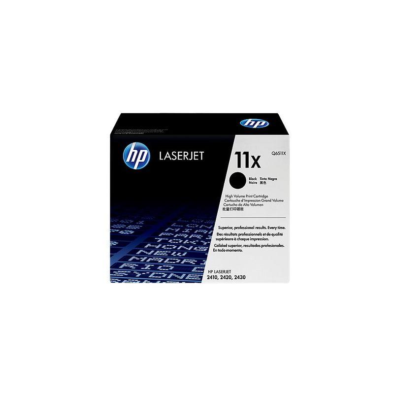 Hp Q6511X Black  Laser Toner (12000 σελίδες) 11X