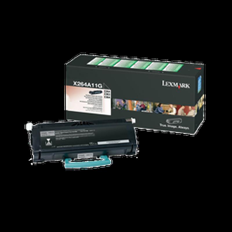 Lexmark X264A11G Black  Laser Toner  X264A11