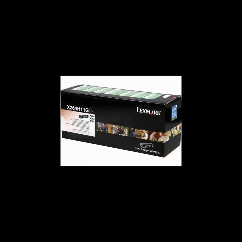 Lexmark X264H11G Black  Laser Toner  X264H11