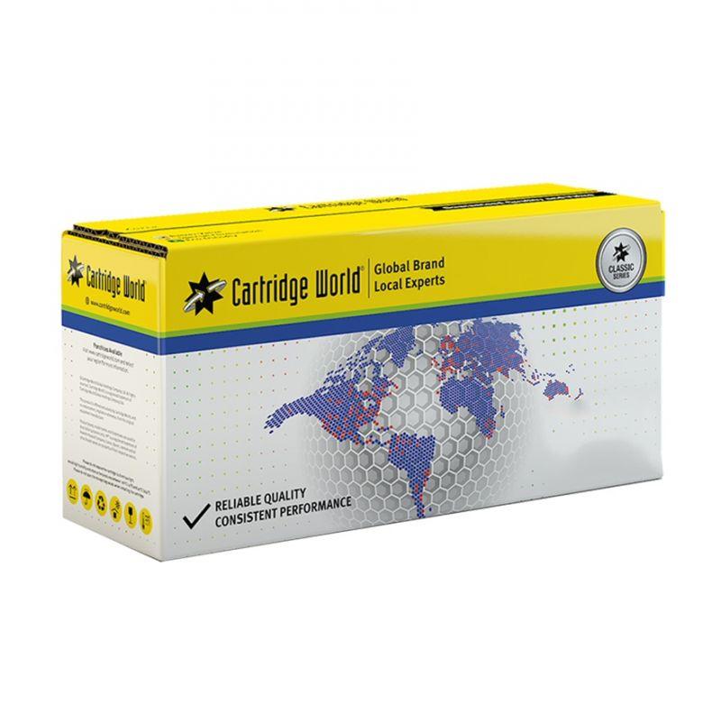 Cartridge World CWCF402X Yellow Laser Toner (2300 σελίδες) 201X συμβατό με Hp εκτυπωτή