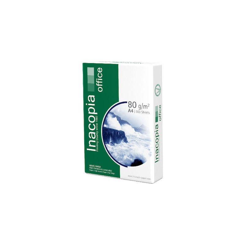 Επαγγελματικό Χαρτί Εκτύπωσης INACOPIA A4 Office 80g/m² 500 Φύλλα