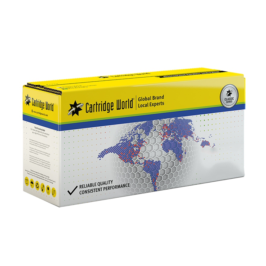 Cartridge World CWCB542A Yellow Laser Toner (1400 σελίδες) 125A