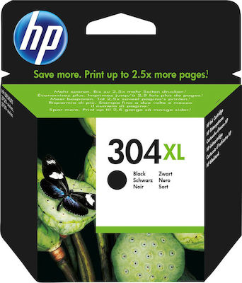 Hp N9K08AE Black  Inkjet Cartridge  304XL